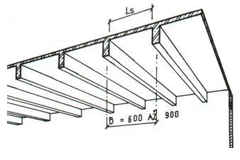 Žebírkový strop